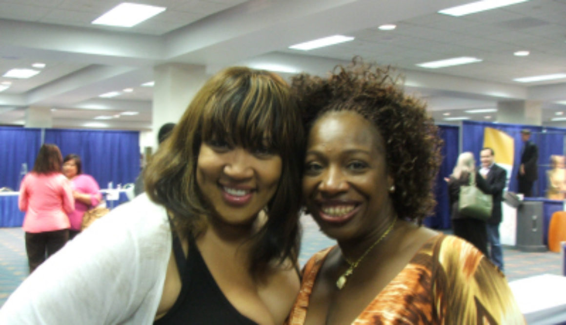 Celebrities at the Player Network Event; Kym Whitley Starred in Friday After Next and Lisa Nichols from The Secret