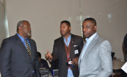Former NFL Stars and Current Executives: Ray Mickens and Spencer  Tillman Networking